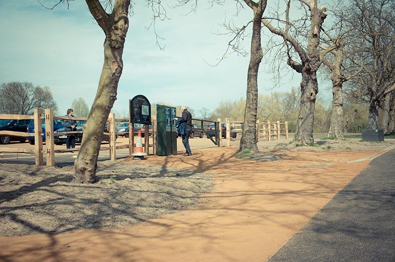 East Heath Car Park Dominic Cole Landscape Architects