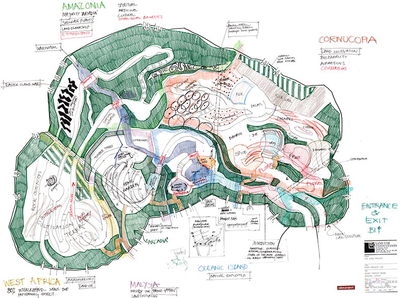The Eden Project Dominic Cole Landscape Architects