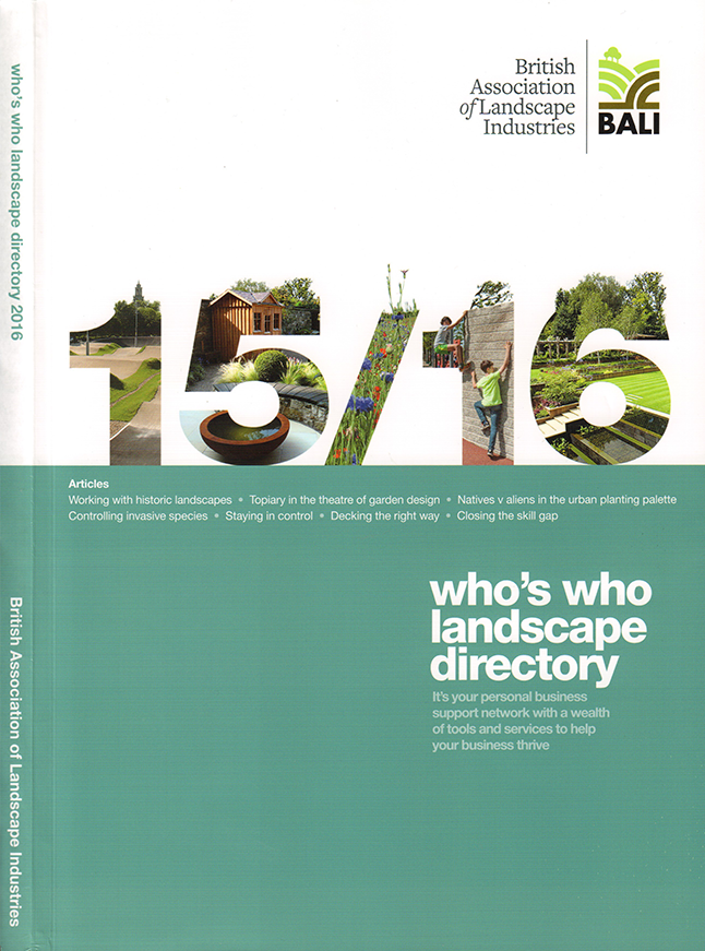 Who s who landscape directory dominic cole landscape for Landscape architects directory